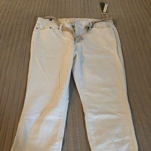 White Lauren Conrad Jeans